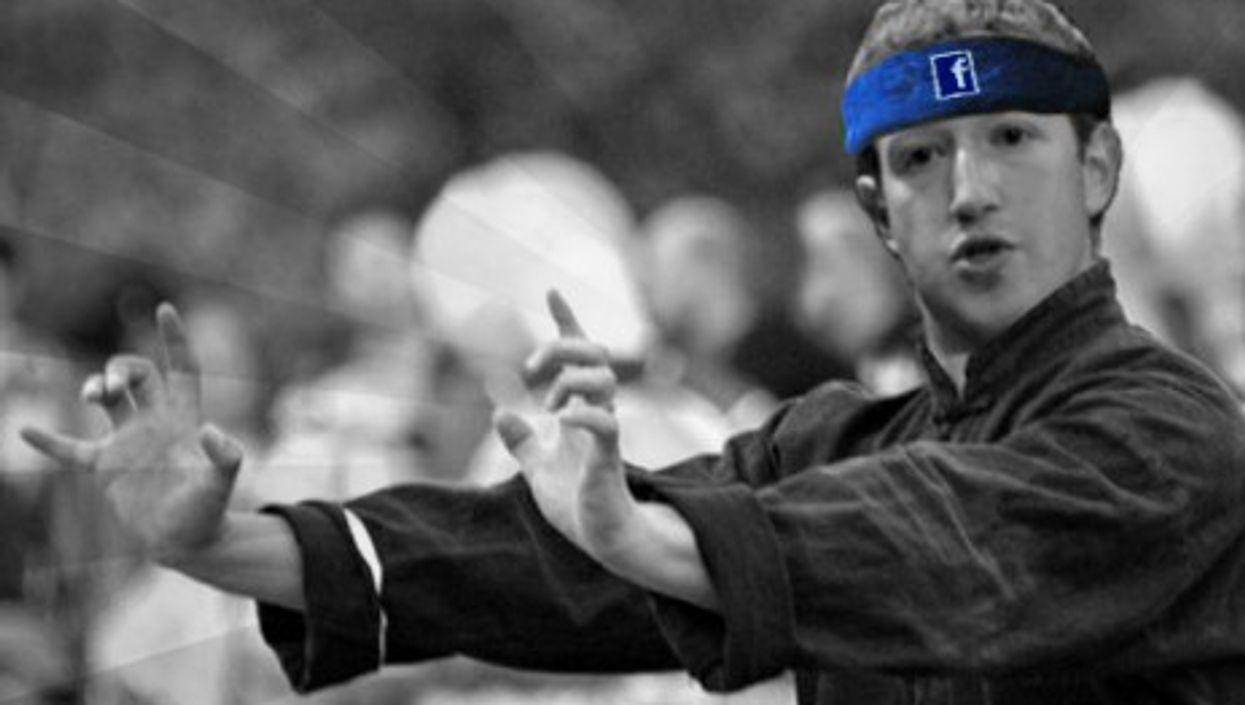 Mark Zuckerberg, 'Pushing Hands' Of A Kung Fu Master