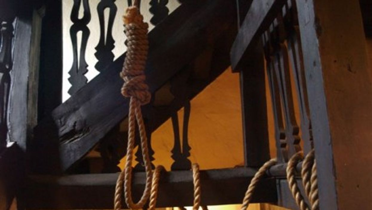 Pardoned Just As He Was Hanged