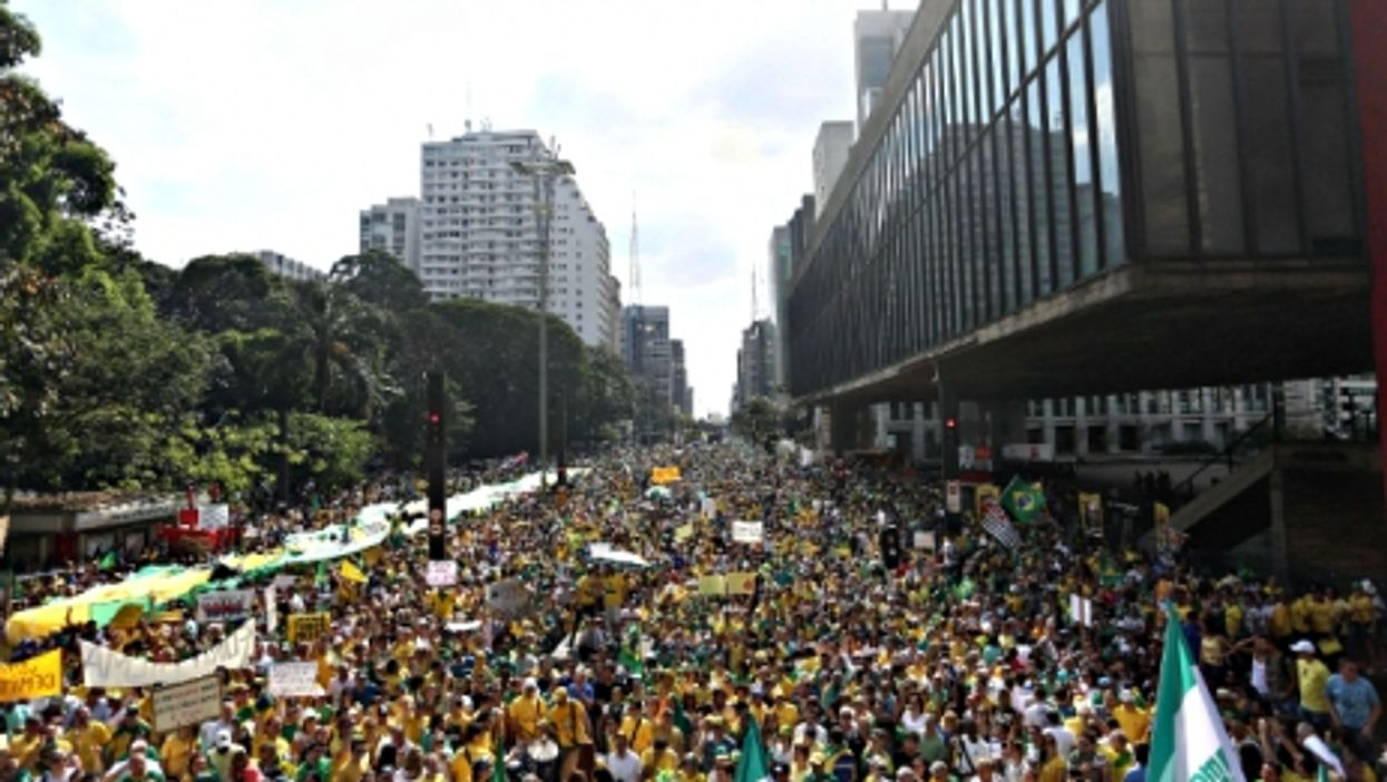 Chinese Anger Grows, Rousseff Under Fire, Drinkable Book