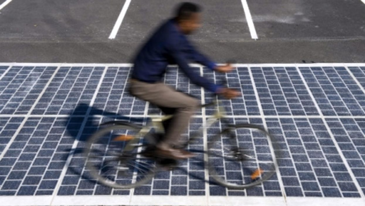Introducing The World's First Solar-Panel-Covered Road