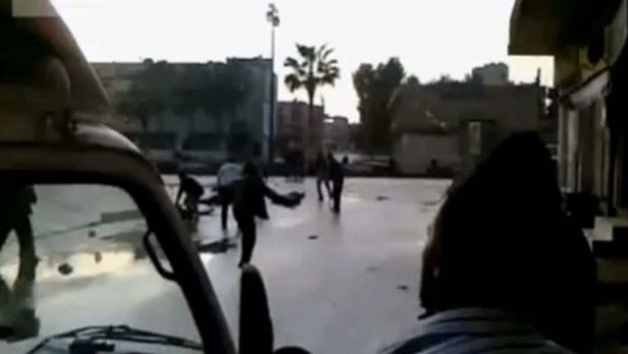 Not Dark Yet In Daraa, Heart Of The Syrian Uprising