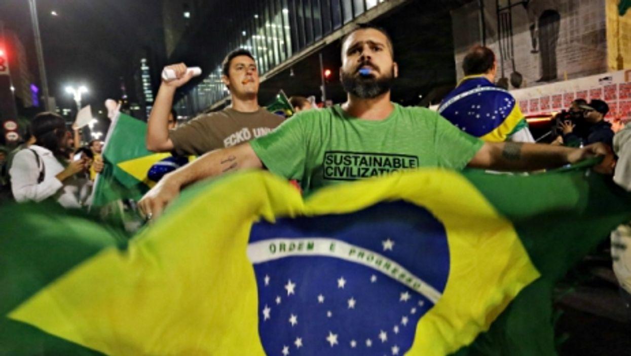 Brazil Unrest, GOP Digs In, Happy Denmark