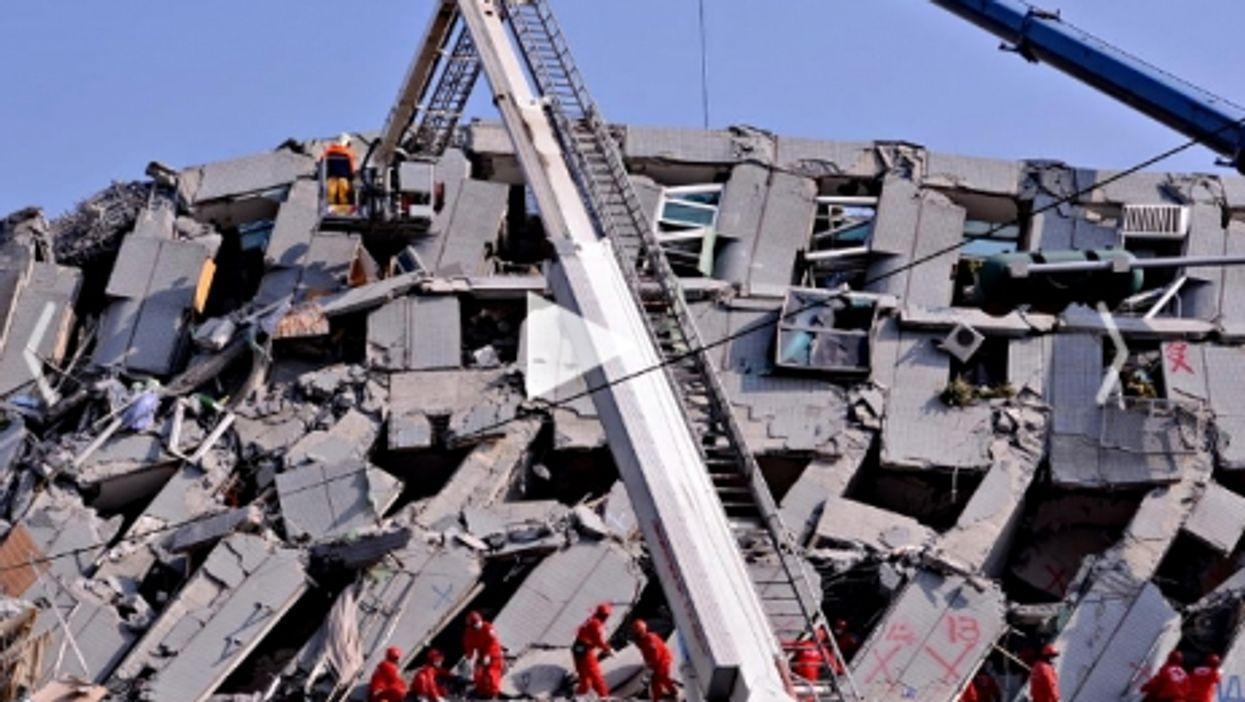 Taiwan Survivors, Europe Stocks Nosedive, Eagles Vs. Drones