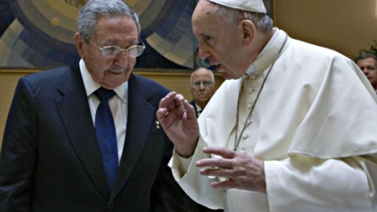 EU Eyes Refugee Cap, Castro Praises Pope, Brands Target Lesbians