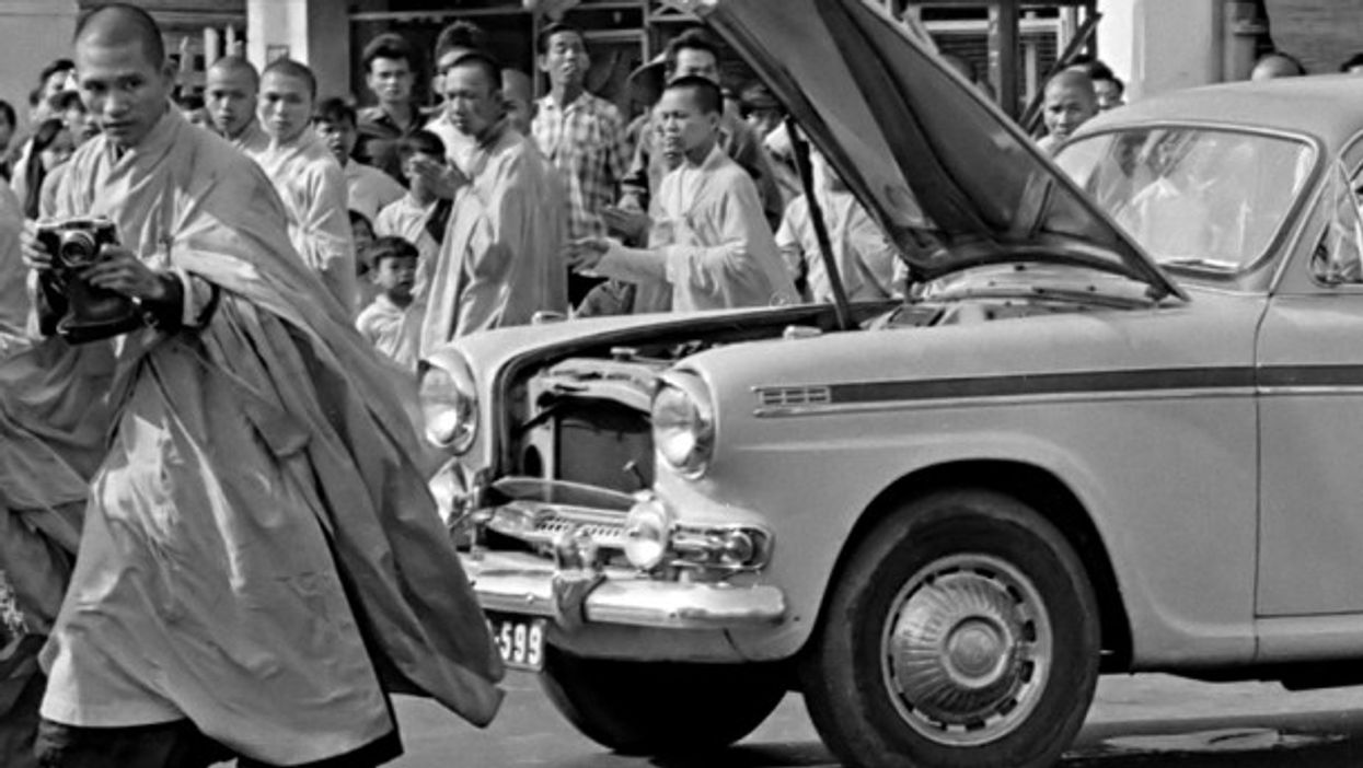 Watch: OneShot—Thích Quảng Đức'sSaigon Self-Immolation
