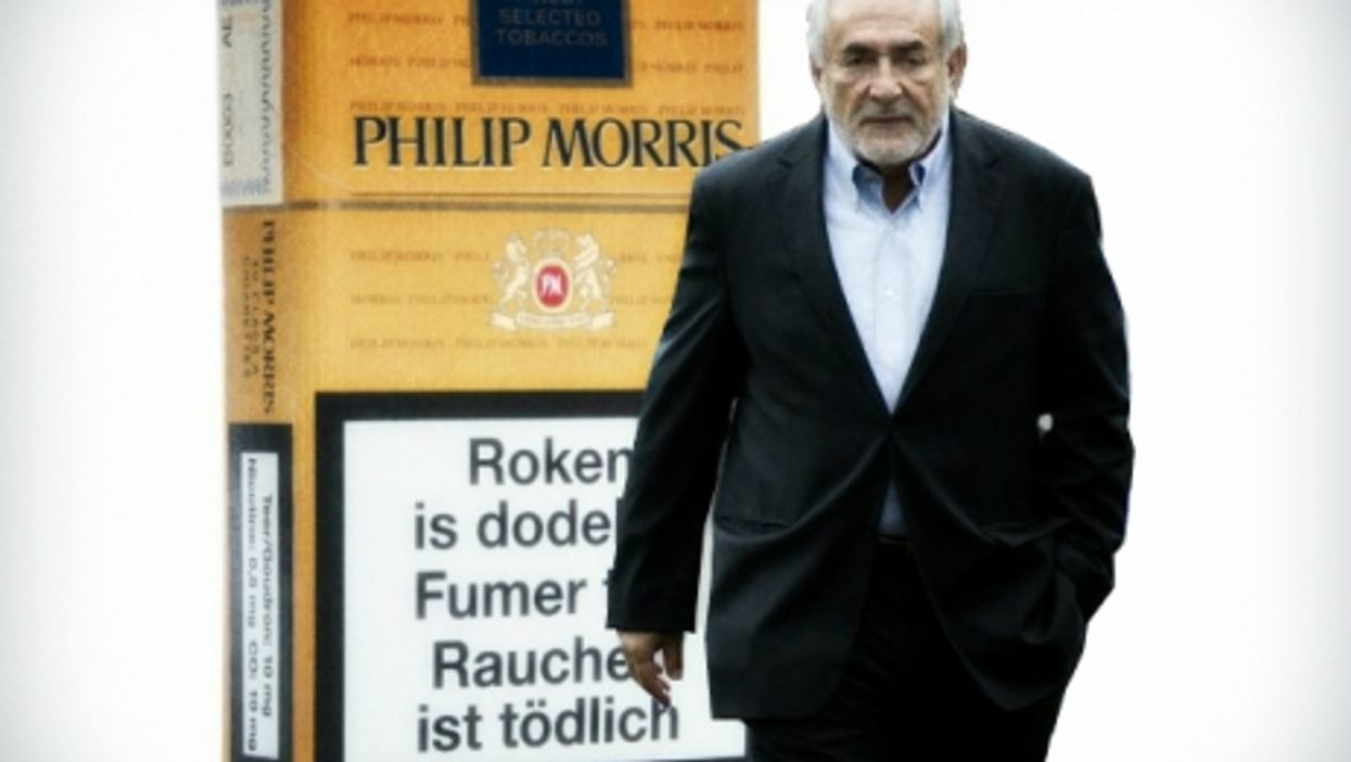 DSK Sins Again: Strauss-Kahn Turns Lobbyist For Big Tobacco