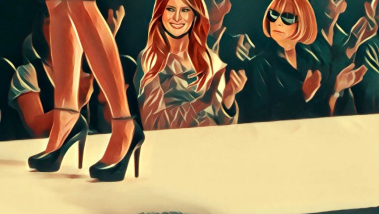True Fiction: Melania Says Basta! TheFormer First Lady's Secret In Milan