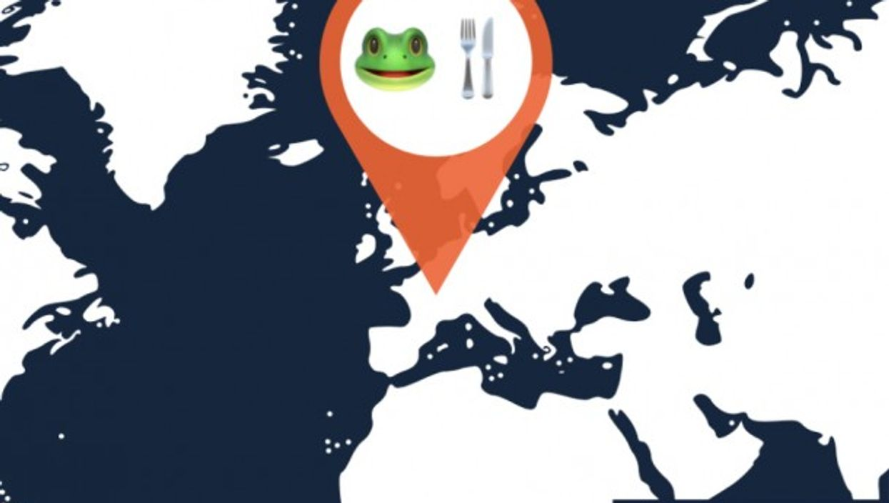 Pandemic Forces French To Buy Their Frogs From Vending Machine