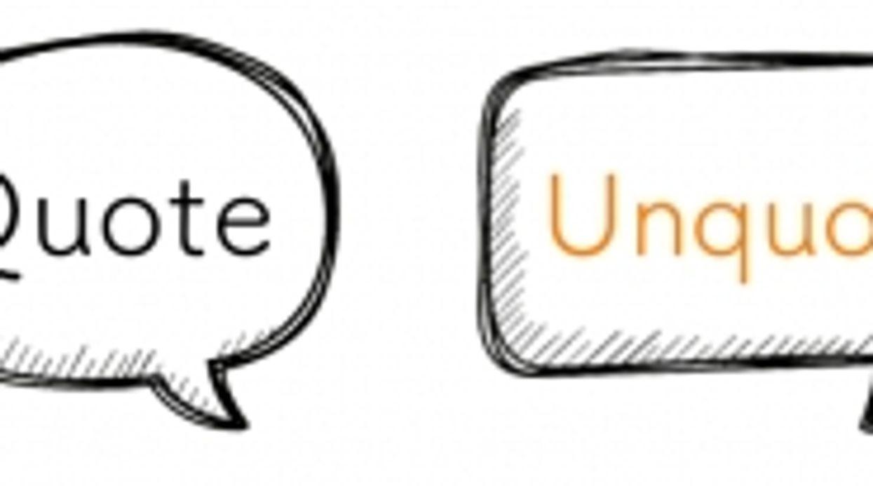 Quote/Unquote