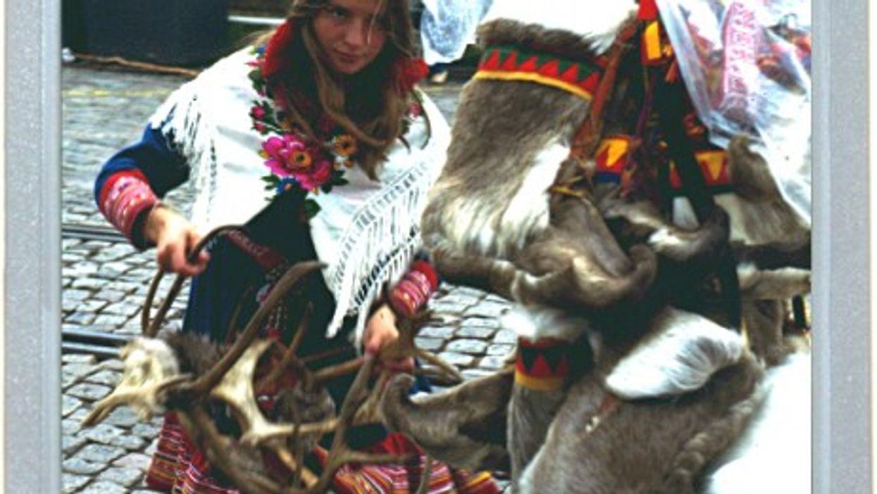 The Little Reindeer Girl