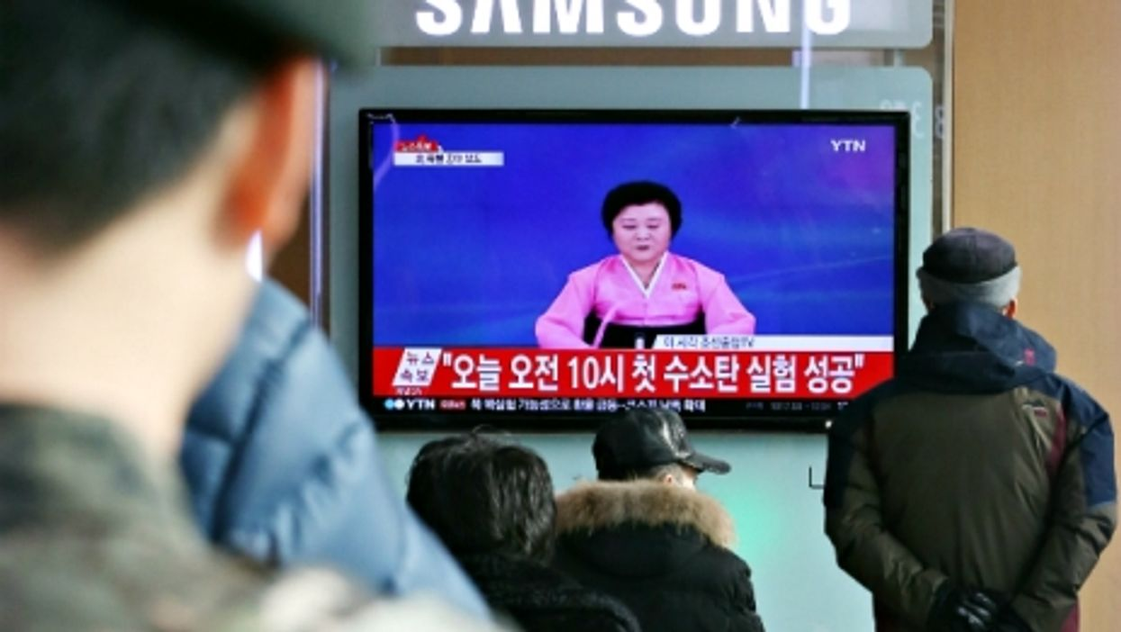 North Korea H-Bomb Claim, Cologne Outcry, Black Hole Burp