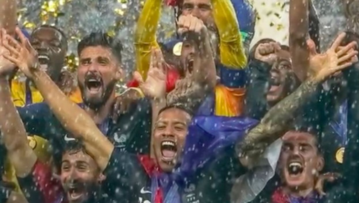 Watch: One Shot - World Cup Champion France, Frozen In Time