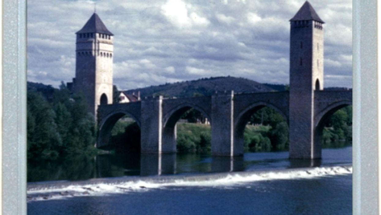 Old Bridge, Old Picture