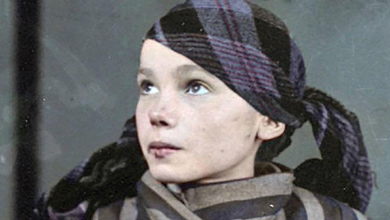 Watch: OneShot —Colorized Portrait Of Czeslawa Kwoka