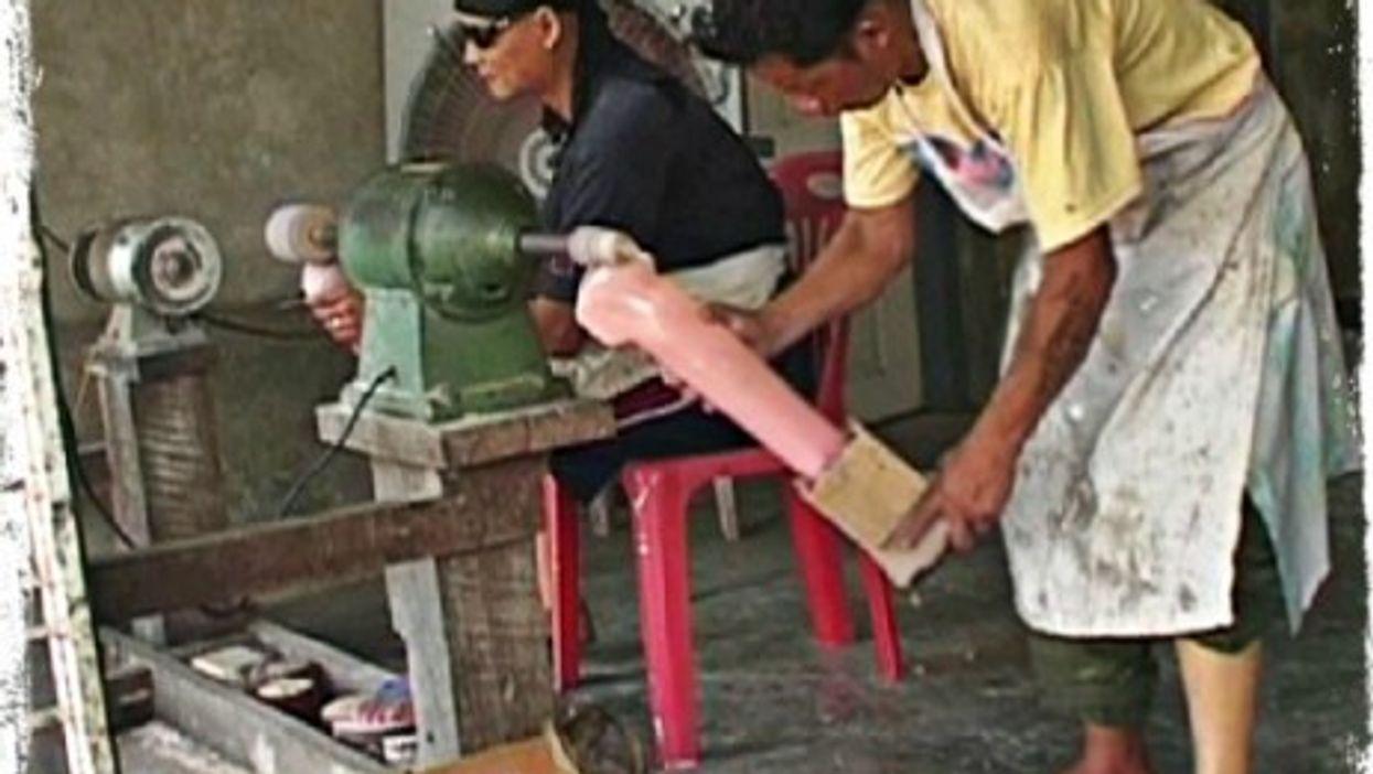 Myanmar's Landmine Victims Make Prosthetic Legs