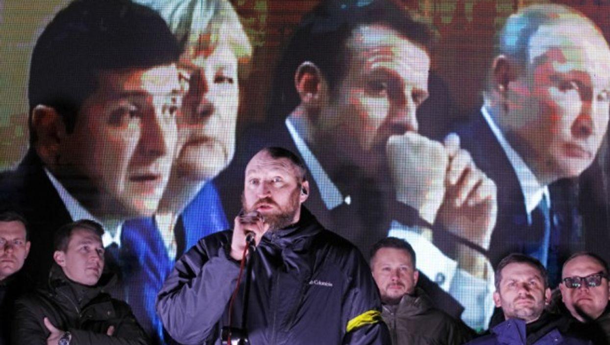 When Zelensky Met Putin : How It Looked In Kiev, Moscow, Paris