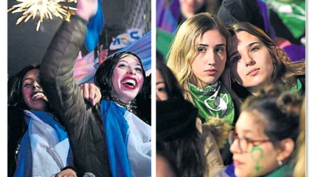 Tears And Smiles: A Divided Argentina Reacts To Abortion Ruling