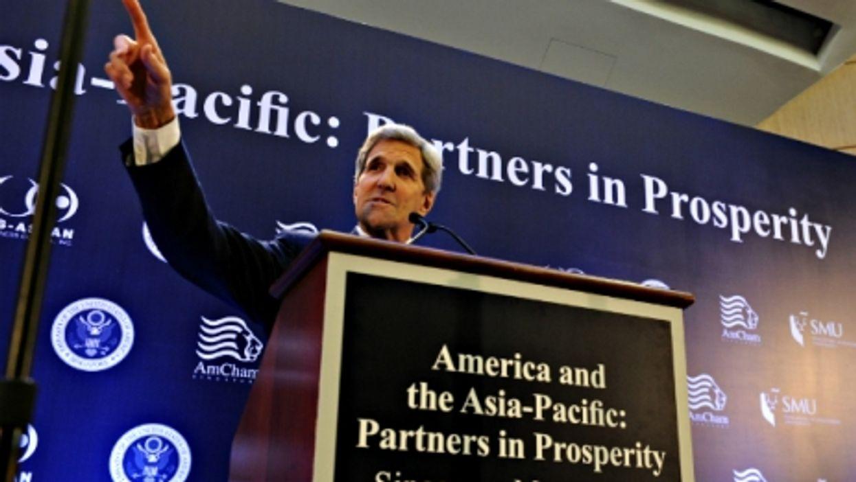 Kerry Chides China, Puerto Rico Risks, Kermit/Miss Piggy Split