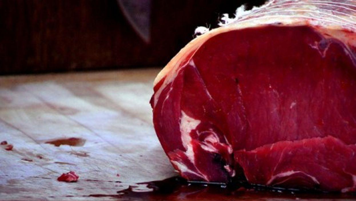 In France, meat eaters strike back