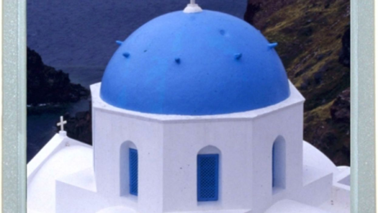 The Colors Of Santorini