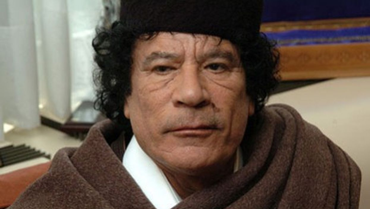 """Gaddafi Interview: """"Here, There Is No Opposition"""""""