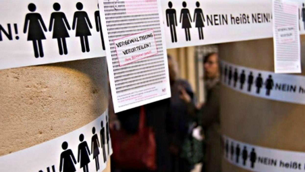 """Tough Question About Germany's """"No Means No"""" Rape Reform"""