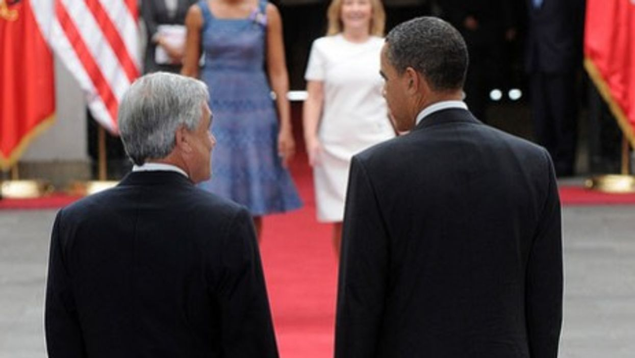 LATIN AMERICA: With World Watching Japan And Libya, Obama Ducks South Of The Border