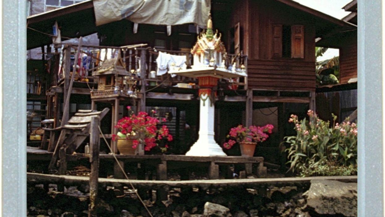 Buddhist Birdhouse?