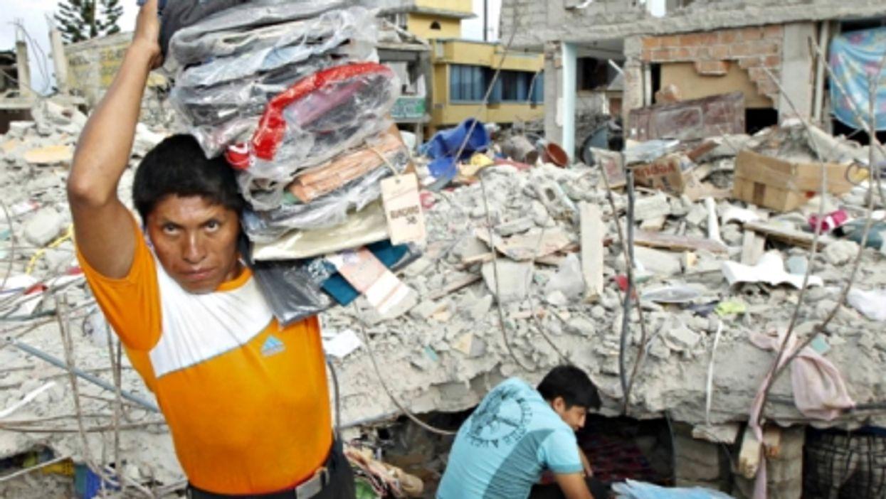 Rebuilding Ecuador, New Dollar Bills, Culling Gulls