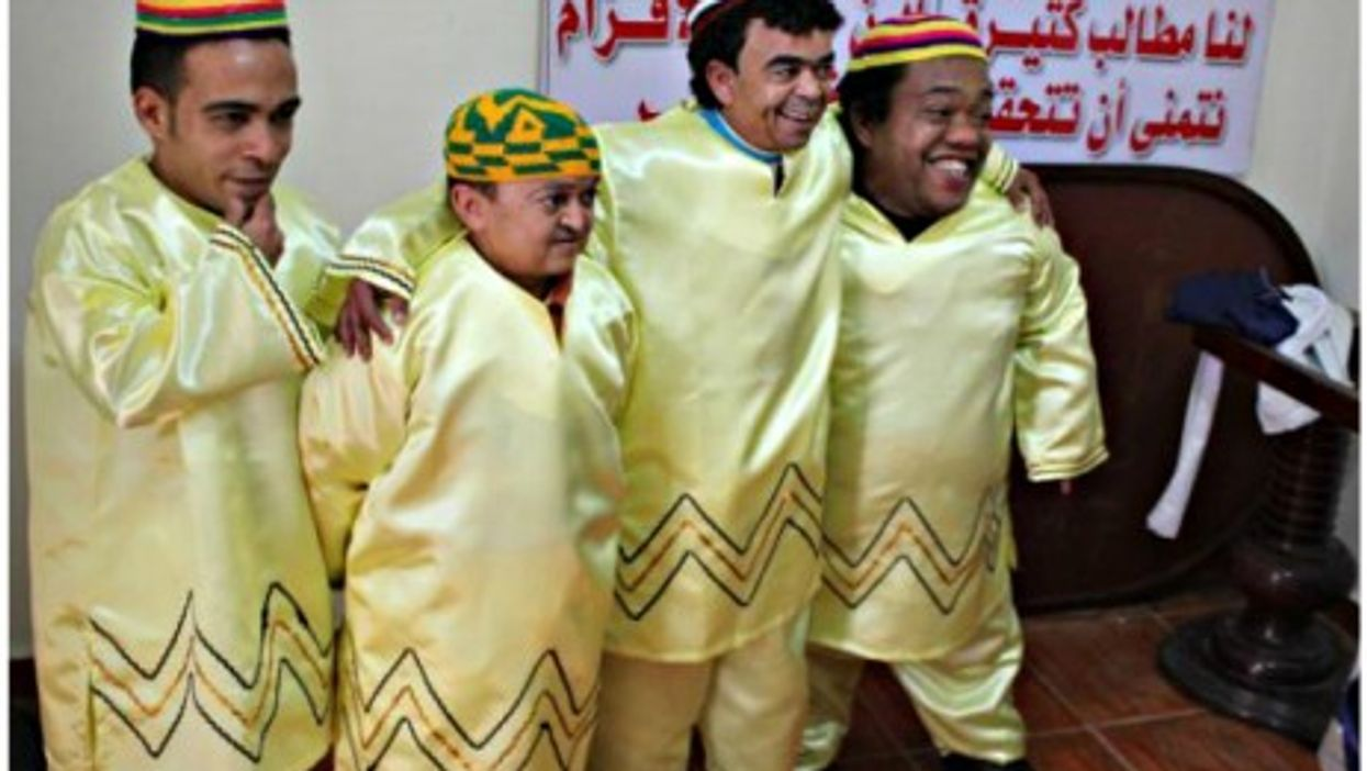 Egyptian Dwarfs Fight For Their Rights