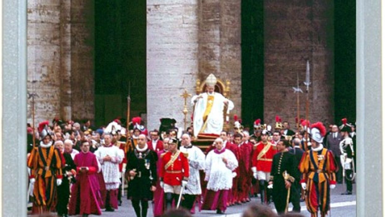 Before The Popemobile