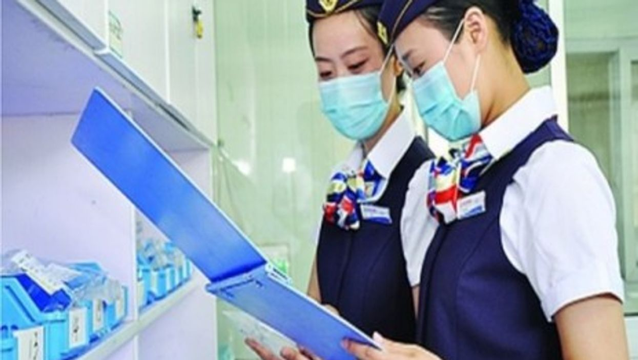 A Bogus Cure For Chinese Hospitals: Airline-Style Hostesses