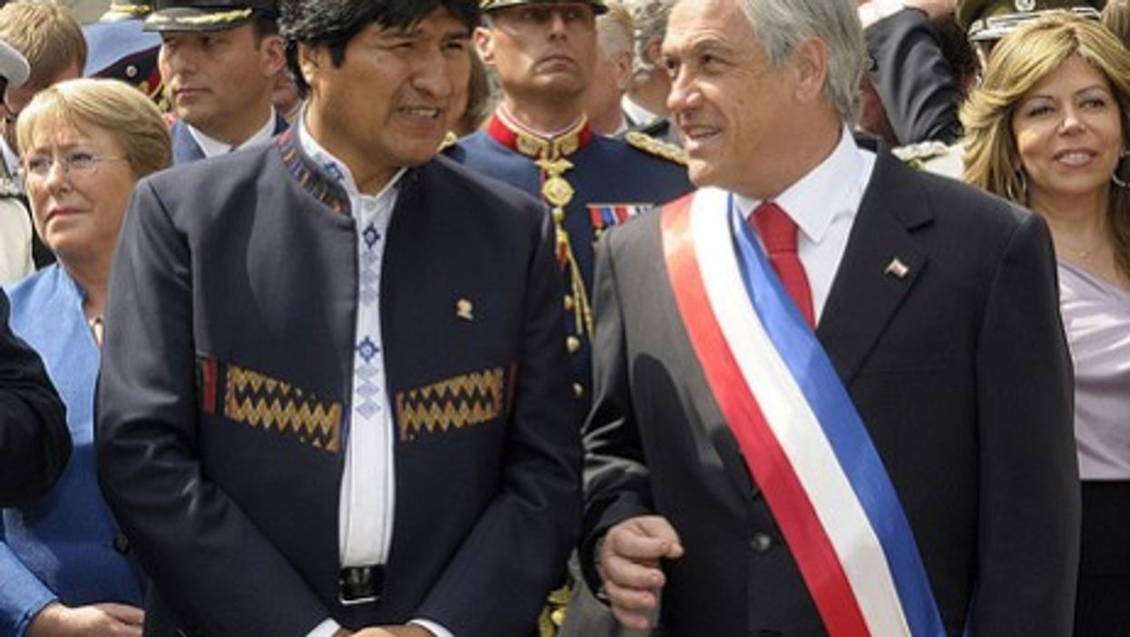 LATIN AMERICA: After 130 Years, Seeking A South American Peace In La Paz