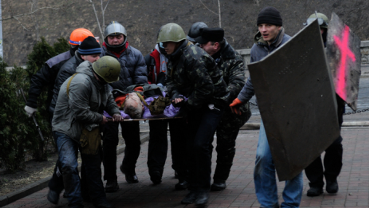Kiev's Bloodiest Day, After Truce Crumbles
