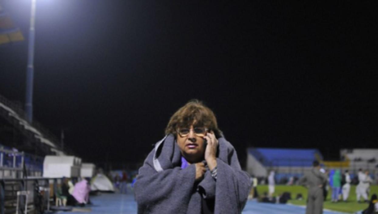 Snapshot: Plane Mourning, Chile Quake, Future King
