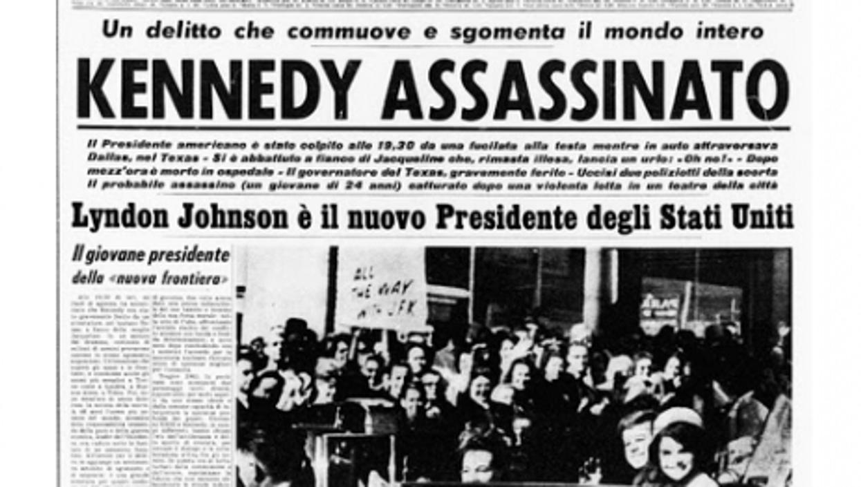 JFK Assassination: World's Newspapers 50 Years Ago