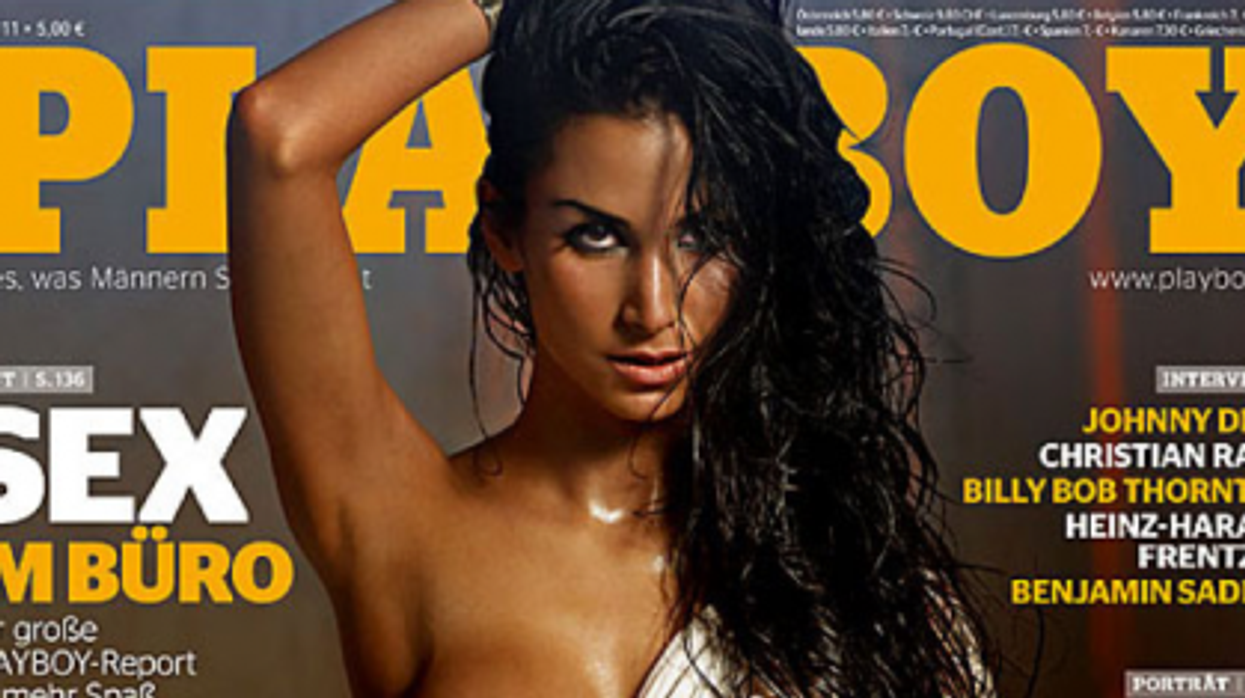 Unveiled: First Turkish Woman Poses For German Playboy
