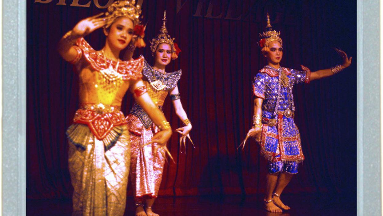 Nailing The Thai Dance