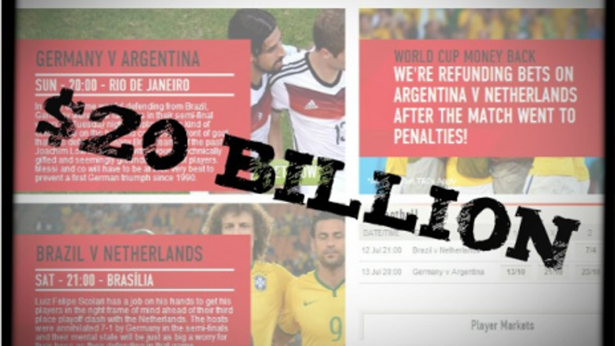 By The Numbers: Deforestation, Soccer Bets, More