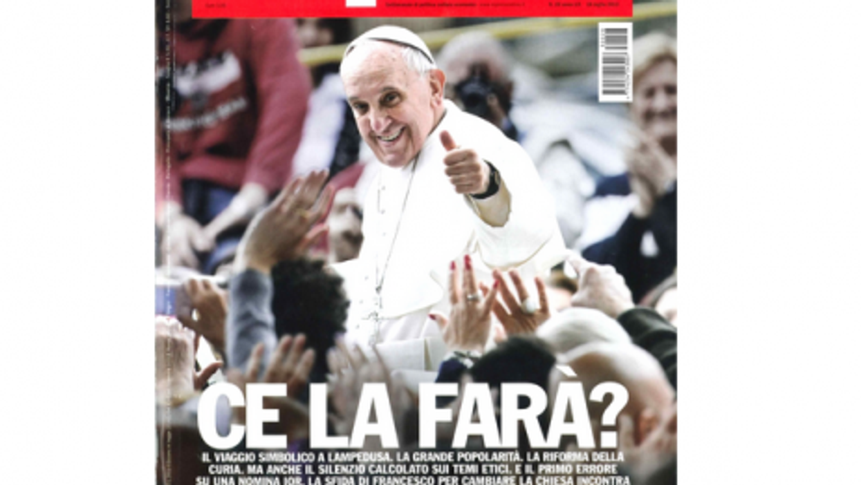 Coverboy Pontiff: Pope Francis, A Year In Magazines