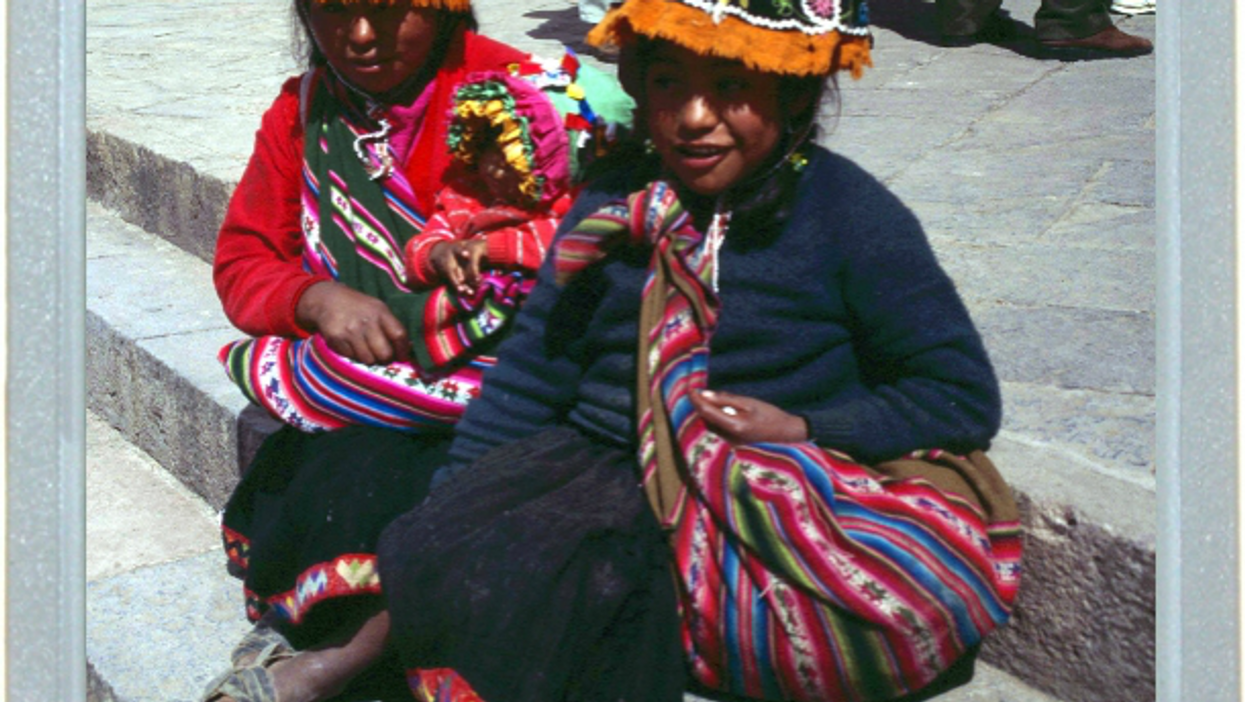 Peruvians At Rest