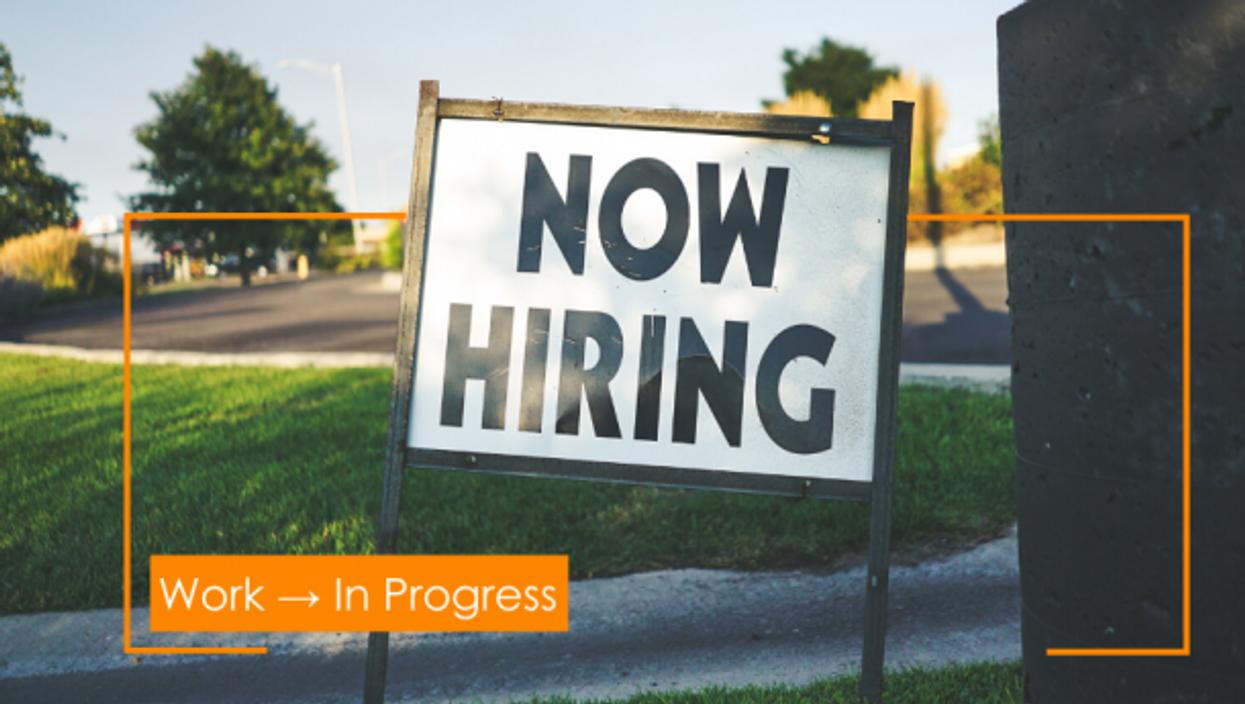 Work → In Progress: Finding A Job In The Matrix