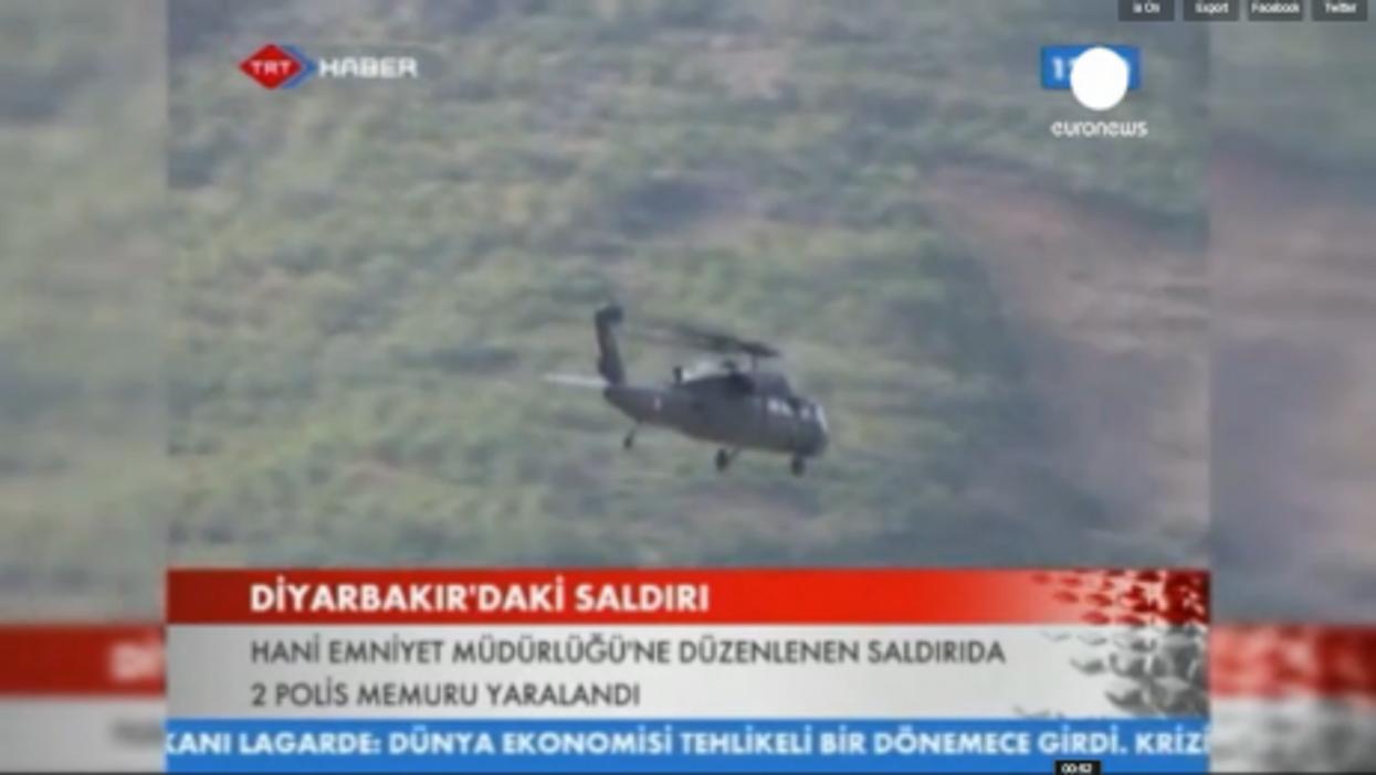 Turkey Bears Down On Kurds After PKK Rebels Kill Six Turkish Officers