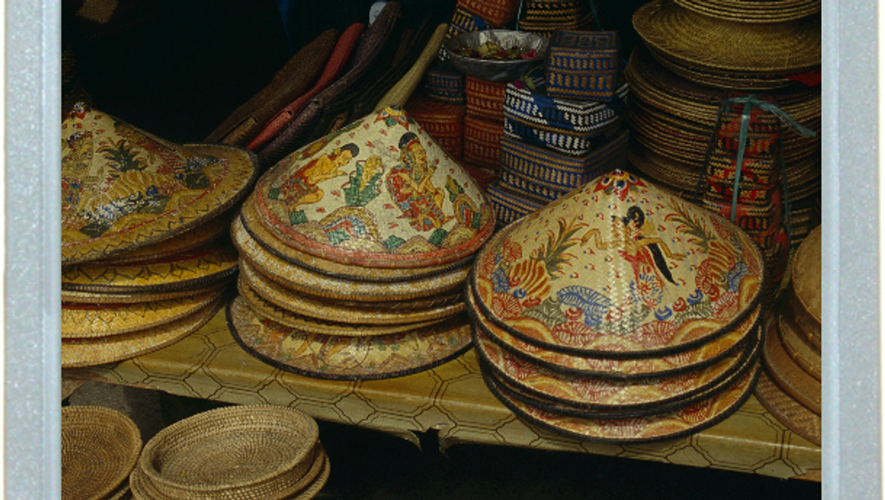 Tip Of The Balinese Hat