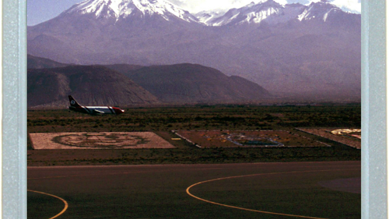 Andes From The Runway
