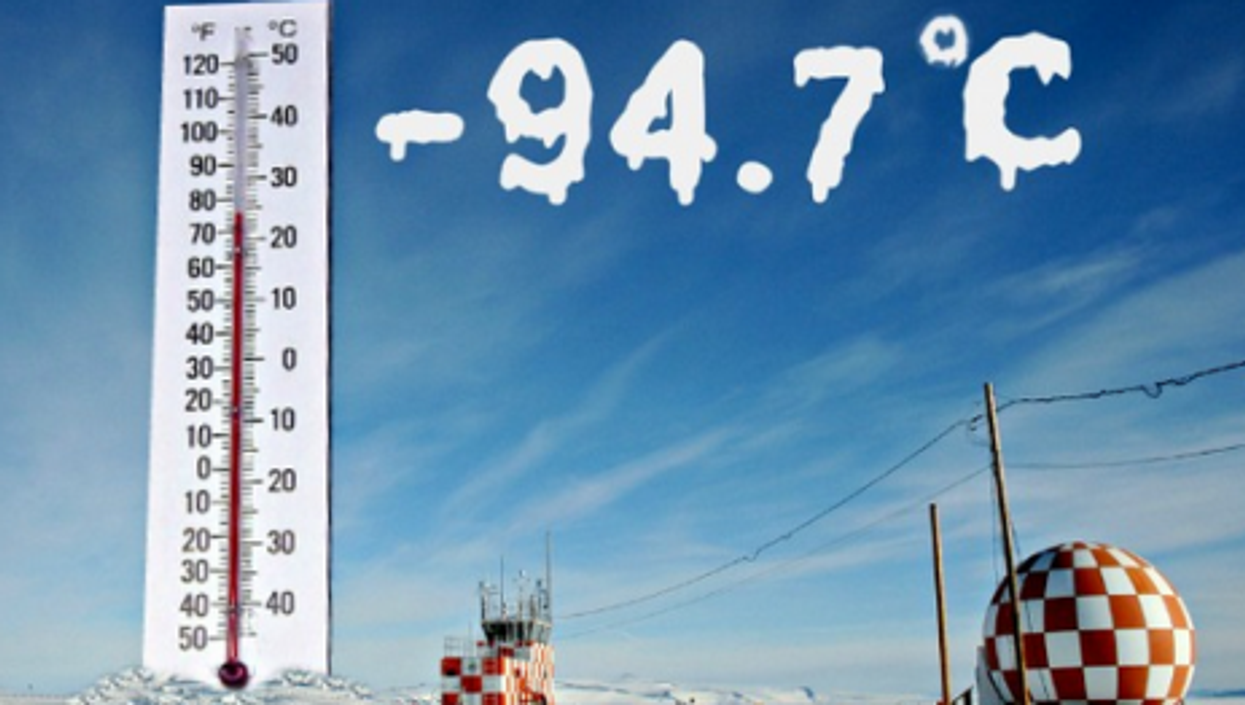 By The Numbers: Record Cold, Steaming Rice And More