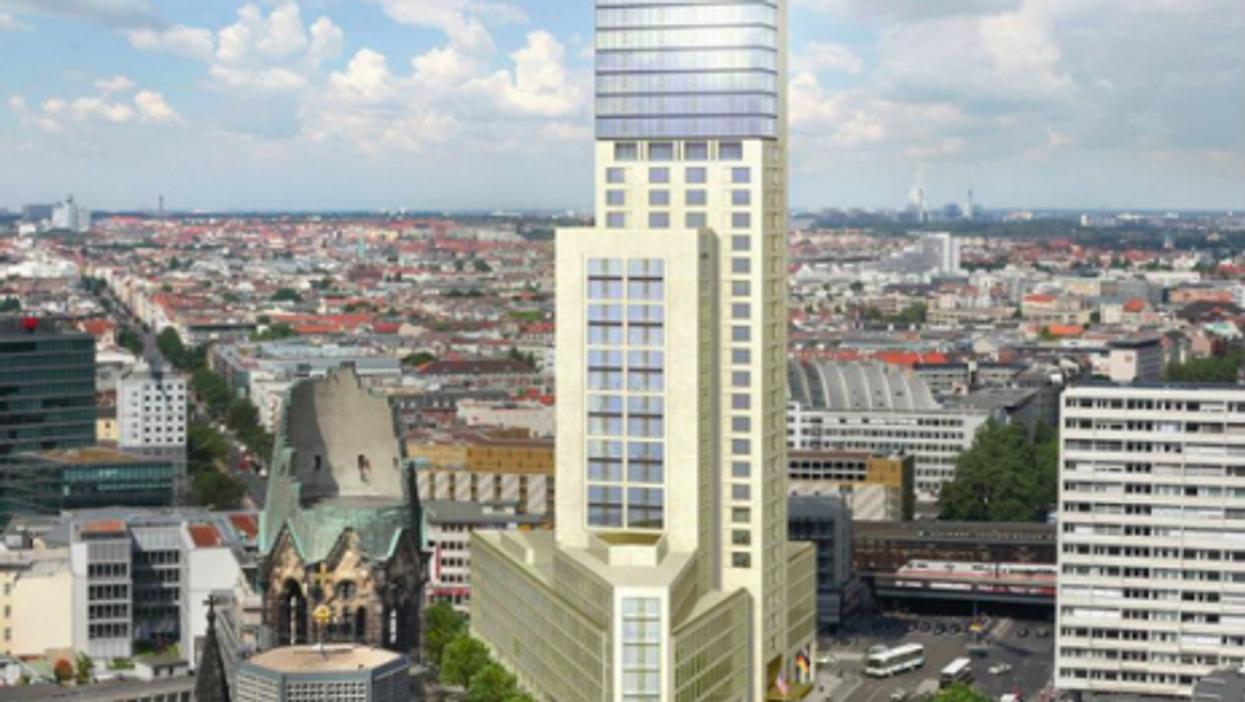 A Waldorf Astoria Hotel Tries To Brighten A Gray Berlin Neighborhood
