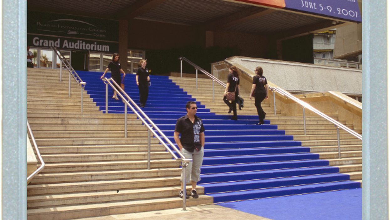 The Blue Carpet Of Cannes