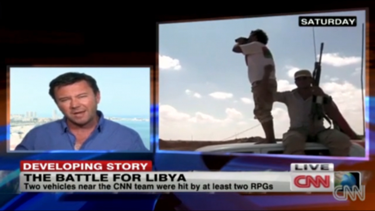 Battle For Libya Grinds On: CNN Reports From Front Line
