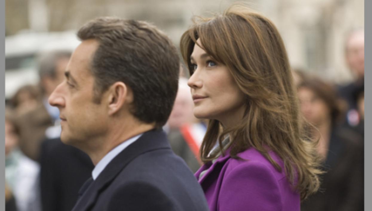 Carla Bruni-Sarkozy's New Public Face -- And Pregnancy Rumors